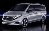 Mercedes EQV concept - static