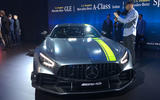 Mercedes-AMG GT R Pro LA motor show - stand front