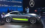 Mercedes-AMG GT R Pro LA motor show - stand side