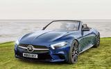 Mercedes SL render by Autocar