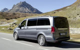 Mercedes V-Class on the road