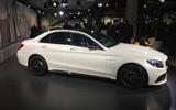 The Mercedes-AMG C63 has been shown in New York