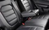 MG GS rear seats