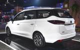New Delhi Auto Expo 2020 - MG Motor 360 rear