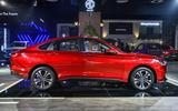 New Delhi Auto Expo 2020 - MG Motor R6 sedan side