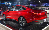 New Delhi Auto Expo 2020 - MG Motor R6 sedan rear