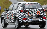 MG small SUV spied