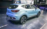 MG ZS EV - rear