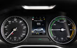 MG ZS EV dashboard