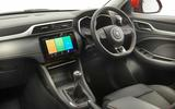 MG ZS facelift interior