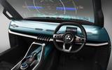Mitsubishi Mi-Tech concept - dashboard