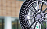 Michelin Uptis tyre concept detail