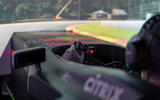 Aston Martin Red Bull Racing Valkyrie simulator