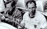 Stirling Moss was joined by Denis Jenkinson