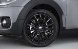 Mini Clubman black alloys