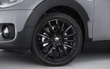 Mini Clubman black alloys