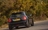 mini 1499 gt rear cornering dynamic