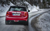 Mini Cooper D DCT rear cornering