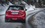 Mini Cooper D DCT rear cornering