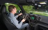 Driving the Mini Countryman S E Cooper All4