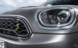 Mini Countryman S E Cooper All4 headlights