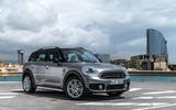 Mini Countryman S E Cooper All4 front quarter
