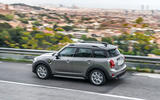 Mini Countryman S E Cooper All4 rear quarter