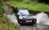 Mini Cooper S All4 Clubman in a ford