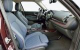 Mini Clubman Cooper S interior