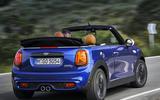 Mini Cooper S Convertible 2018 review cornering