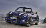 Mini Cooper S Convertible 2018 review static front