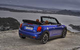 Mini Cooper S Convertible 2018 review static rear