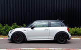 Mini JCW Challenge side profile