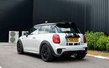 Mini JCW Challenge rear quarter