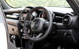 Mini JCW Challenge interior