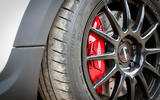 Mini JCW Challenge red brake calipers