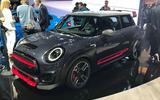 Mini JCW GP at LA motor show 2019 - front