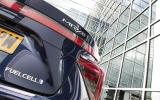 Toyota Mirai rear badging