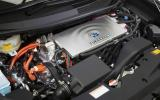 Toyota Mirai hydrogen engine block