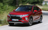 Mitsubishi Eclipse Cross cornering