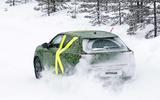 2021 Vauxhall Mokka spyshot rear