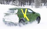 2021 Vauxhall Mokka spyshot rear side