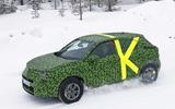 2021 Vauxhall Mokka spyshot side front
