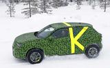 2021 Vauxhall Mokka spyshot side