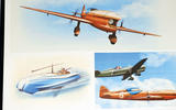 Morgan planes are a flight of fancy by Wells, as are many of his other concept drawings