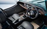 2020 Morgan Plus Four - dashboard