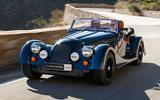 2020 Morgan Plus Four - front 3/4