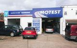 Motest car testing - garage