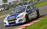Ash Sutton took Subaru's first BTCC win of 2017