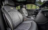 Bentley Mulsanne Speed front seats